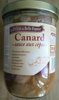 Canard sauce aux cèpes - Produit - fr