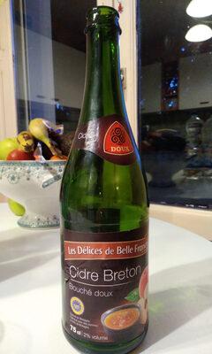 Cidre Breton Bouché Doux - Produit
