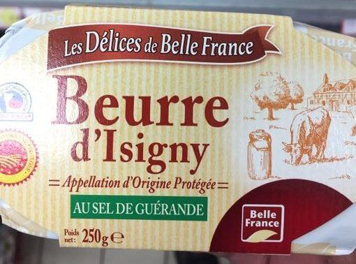 Beurre d'Isigny au sel de Guérande - Product