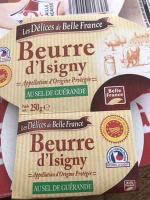 Beurre d'Isigny au sel de Guérande - Ingrediënten
