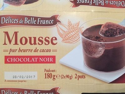 Mousse Pur Beurre De Cacao - Produit - fr