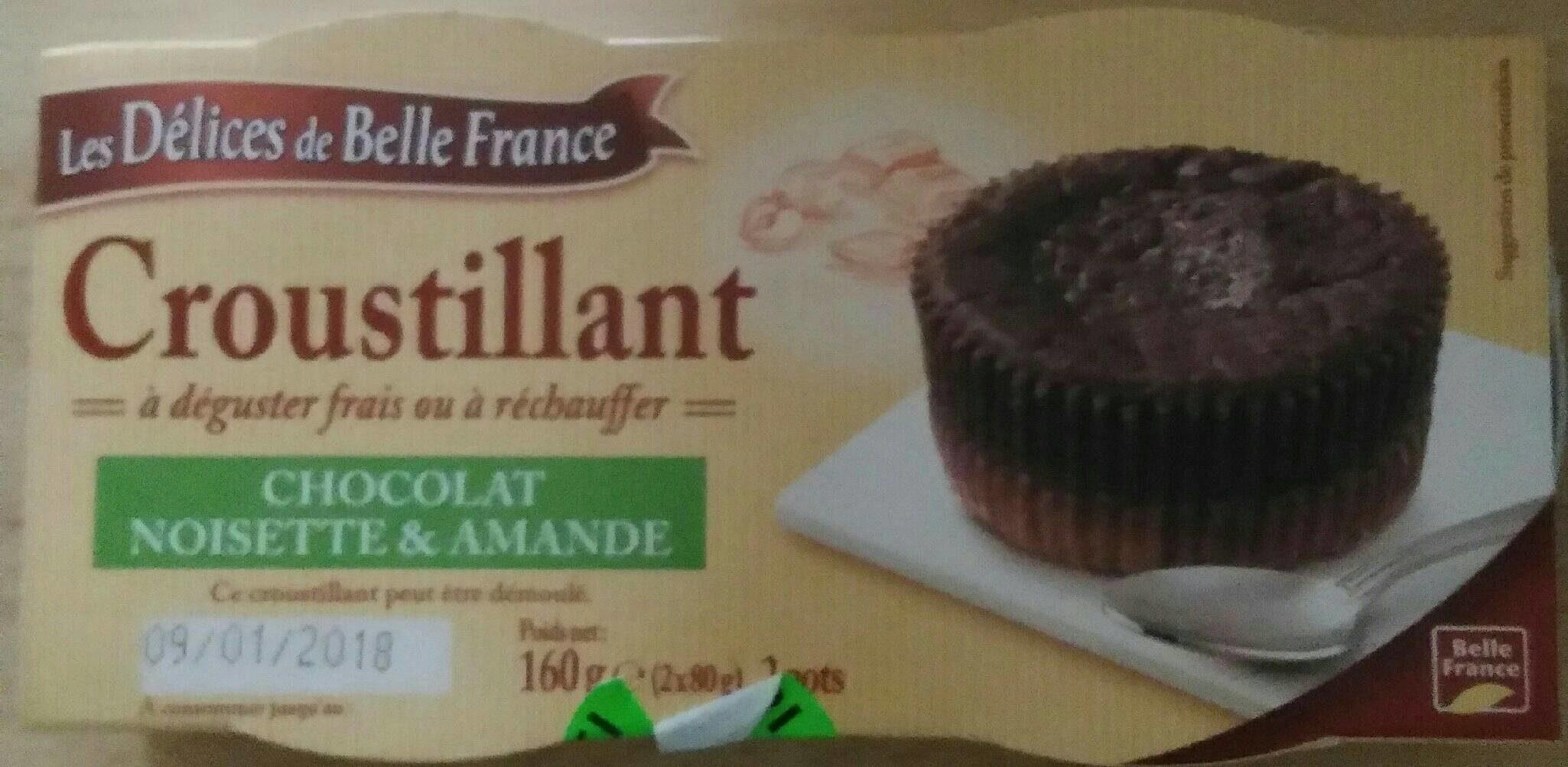Croustillant chocolat noisette amande - Produit