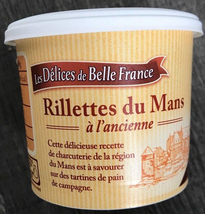 Rillettes du Mans à l'ancienne - Produit - fr
