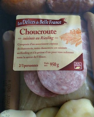 Choucr.garnie 950G Dbf, - Produit - fr