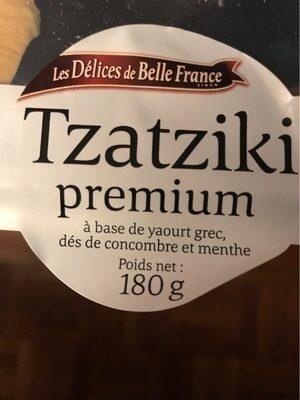 TZATZIKI - Produit - fr