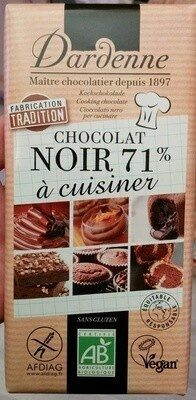 Chocolat noir 71% à patisser - Prodotto - fr