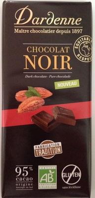 Chocolat noir 95 % - Product