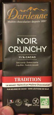 Chocolat Noir crunchy de marron - Produit