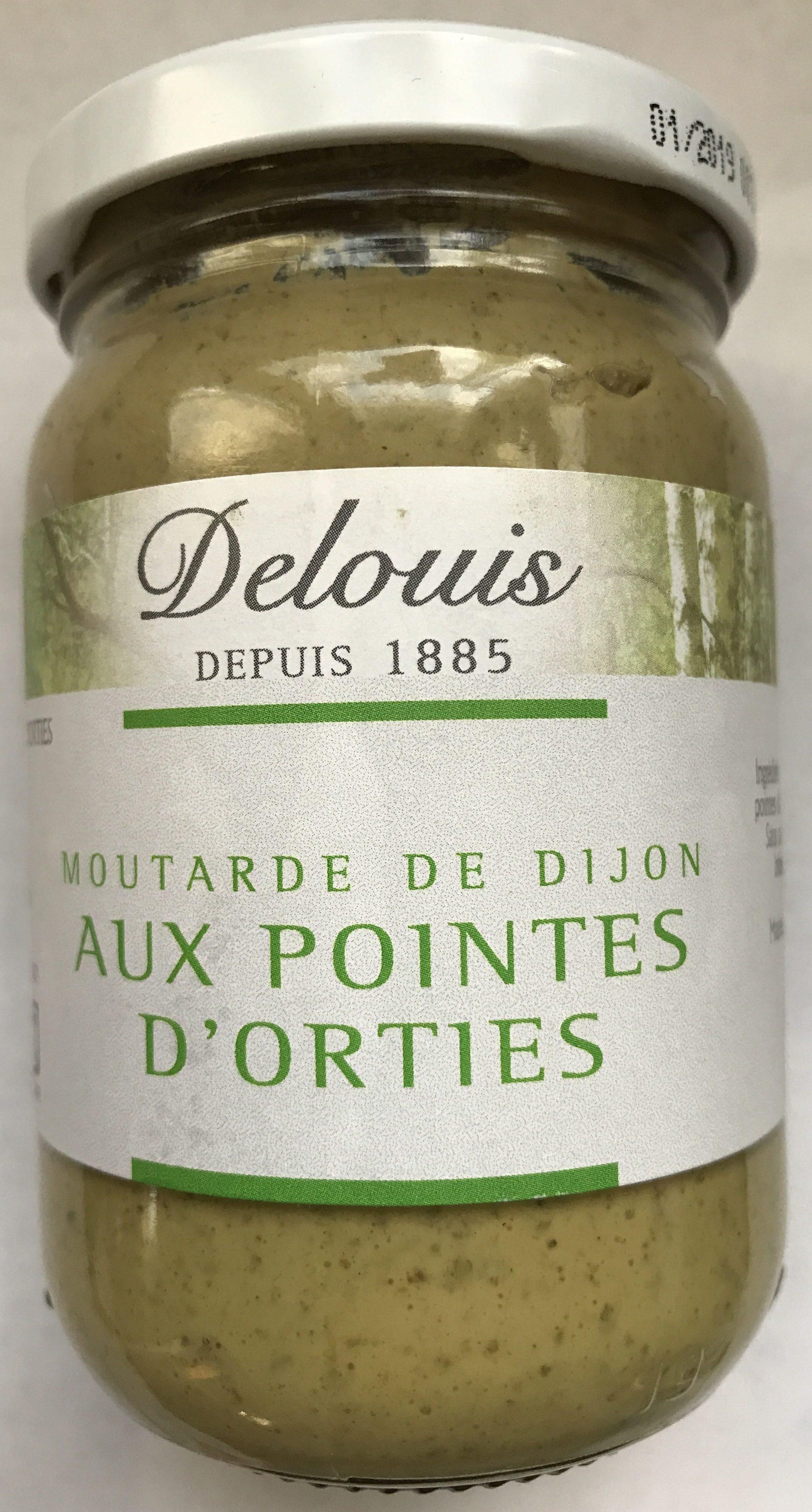 Moutarde de Dijon aux pointes d'orties - Product - fr