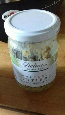Moutarde entière au vinaigre de cidre - Product - fr