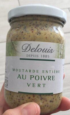 Moutarde Entière Au Poivre Vert - Produit - fr