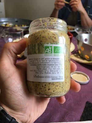 Moutarde Entière Au Poivre Vert - Informations nutritionnelles - fr