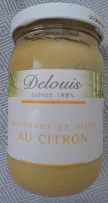 Moutarde De Dijon Au Citron - Produit - fr