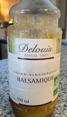 Sauce vinaigrette balsamique - Produit - fr
