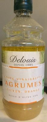 Sauce vinaigrette agrumes citron orange - Produit