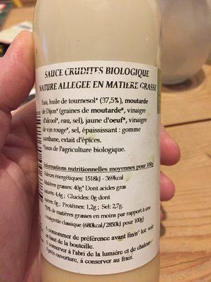 Vinaigrette - Ingrédients - fr