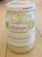 Mayonnaise aux olives vertes - Produit - fr