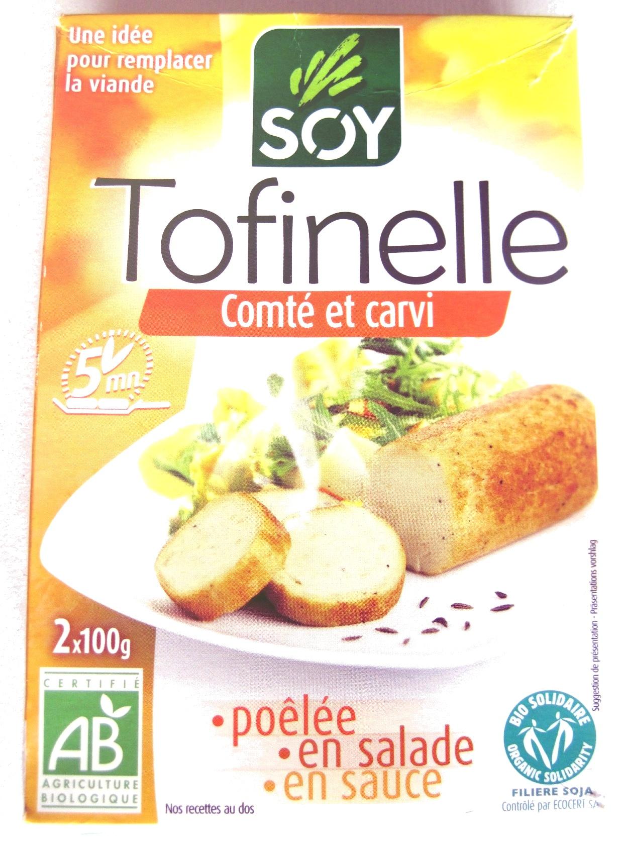 Tofinelle comté et carvi - Produit - fr