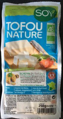 Tofou Nature - Produit