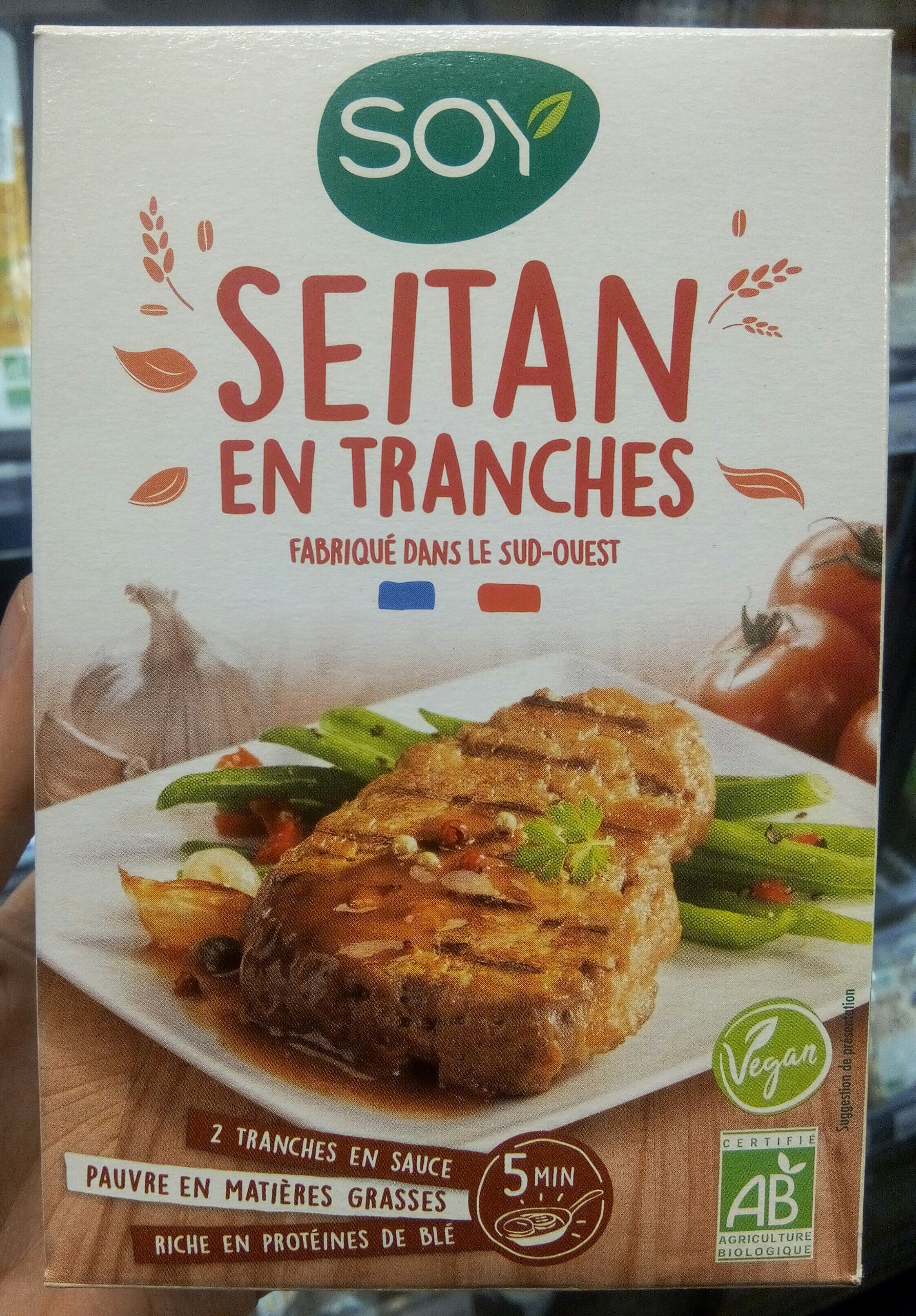 Seitan en tranches - Product