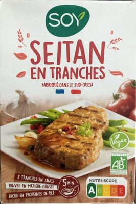 Seitan en tranches - Produit - fr