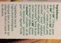 Croc'Seitan à l'Indienne - Ingrédients
