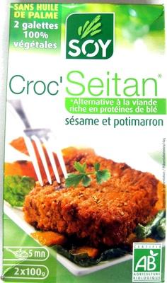 Croc' galette Seitan sésame et potimaron - Produit