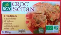 Croc'Seitan à l'indienne - Produit