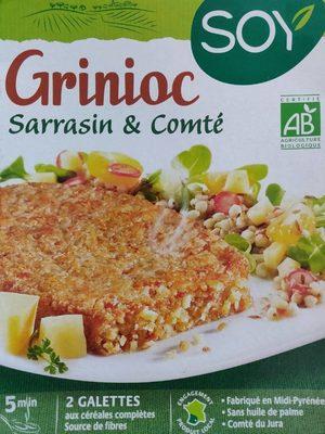 Grinioc Sarrasin & Comté - Produit