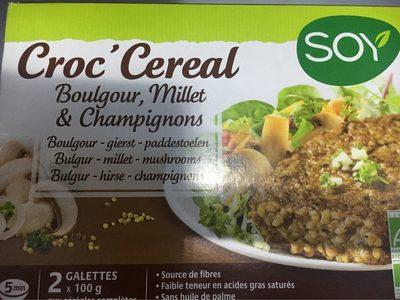 Croc Cereales Au Millet Et Champignons - Produit - fr