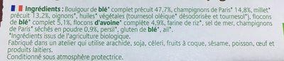Croc Cereales Au Millet Et Champignons - Ingrédients - fr