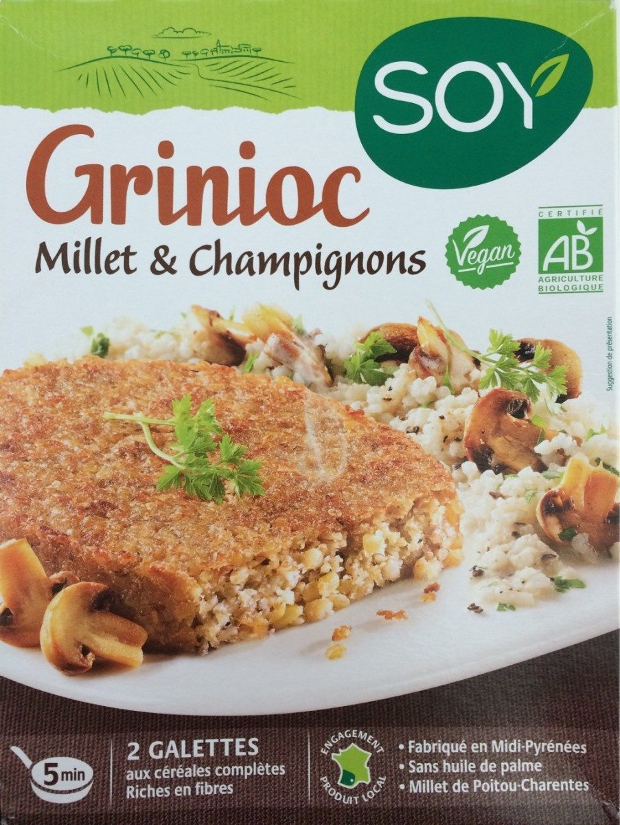 """Résultat de recherche d'images pour """"steak millet et champignons bio"""""""""""