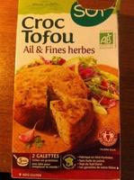 Croc tofu - Ail & Fines herbes - Produit