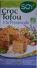 Croc Tofou à la Provençale - Produit
