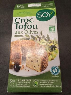 Croc Tofou aux Olives - Produit - fr