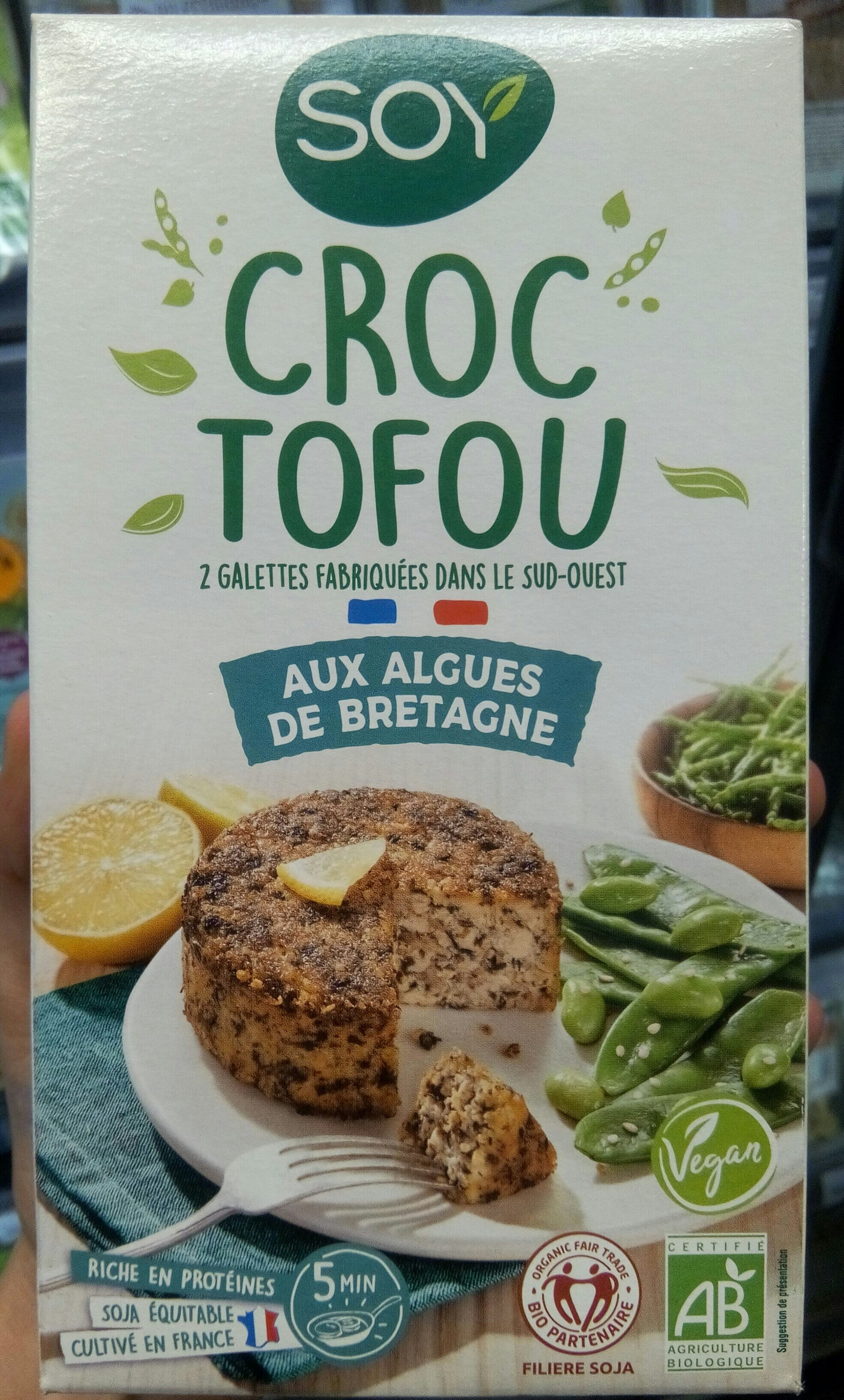 Croc tofu aux algues de bretagne - Produit