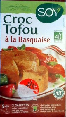 Croc Tofou à la Basquaise - Product - fr