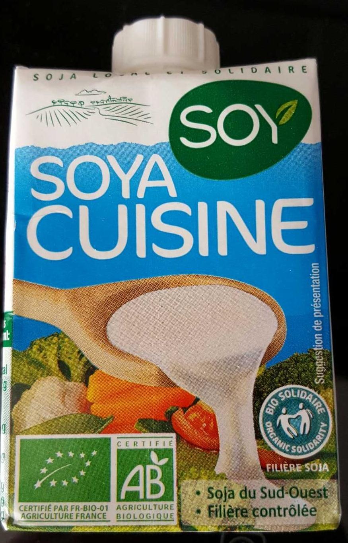 Soya cuisine soy 20 cl for Produit cuisine