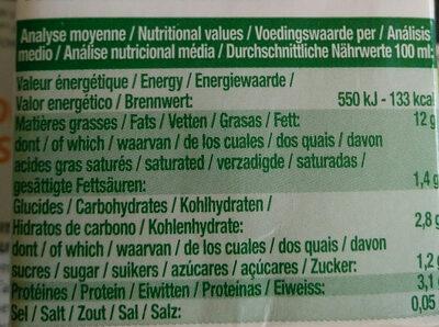 Soya Cuisine - Nutrition facts