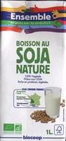 Boisson au soja nature Bio - Product - fr