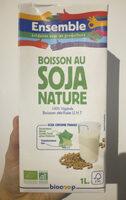 Boisson au soja nature Bio - Voedingswaarden - fr