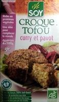 Croque Tofou Curry et Pavot - Produit