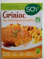 Grinioc riz petits légumes safran - Product