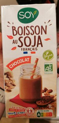 Boisson plaisir au soja chocolat au cacao équitable - Produit - fr