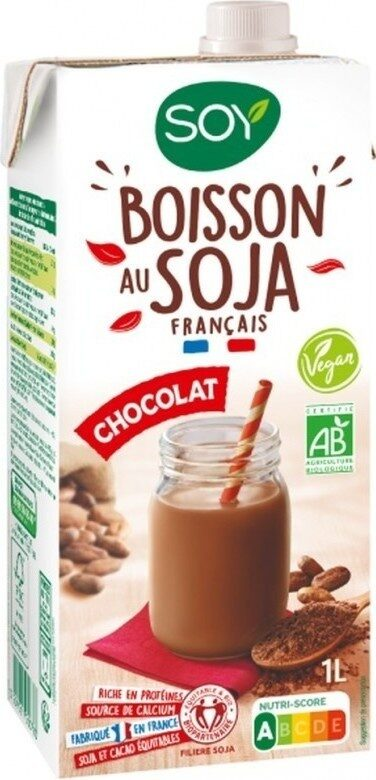 Boisson bio soja chocolat - Product - fr