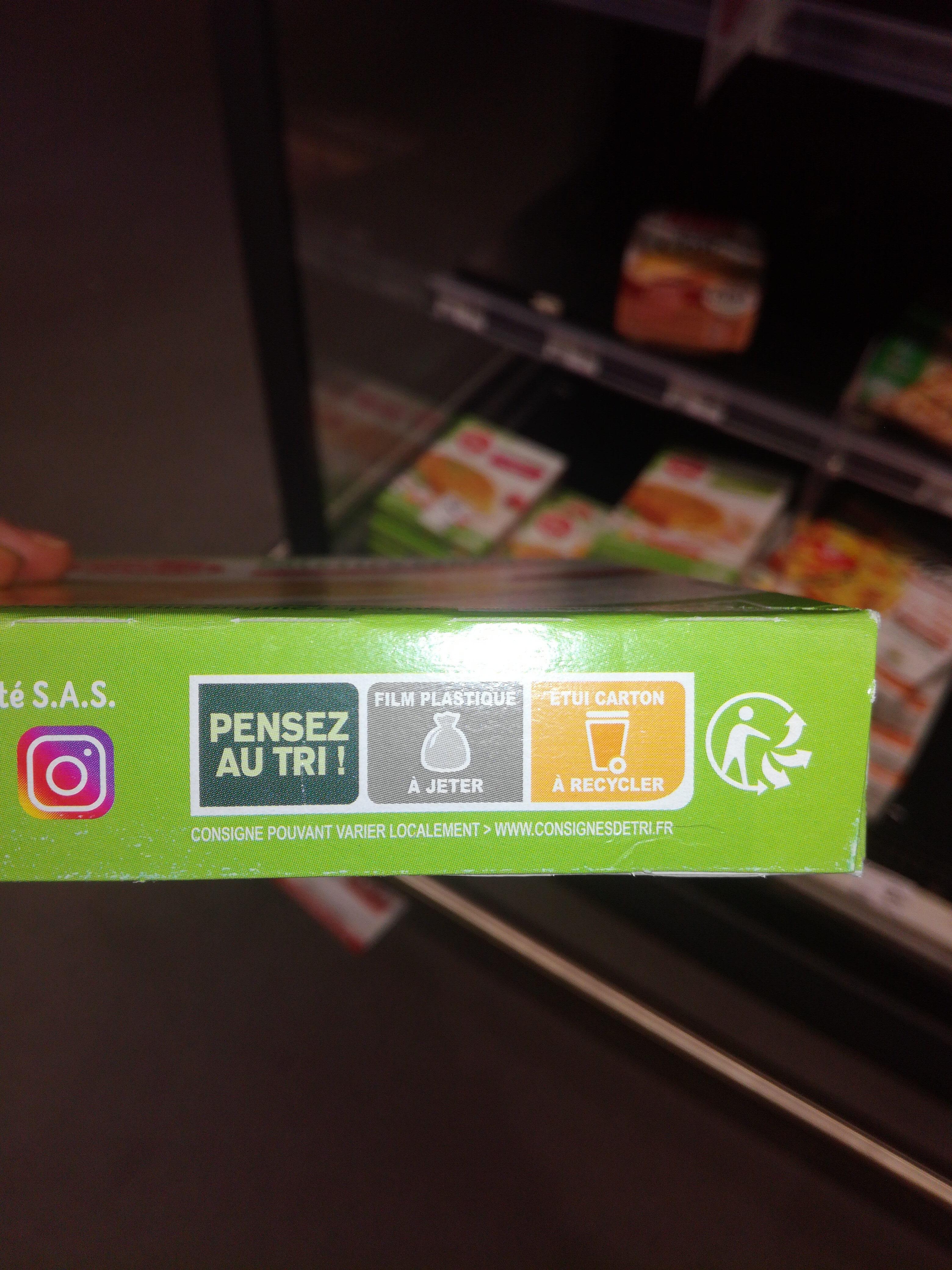 Galettes céréales riz, légumes, safran - Instruction de recyclage et/ou information d'emballage - fr