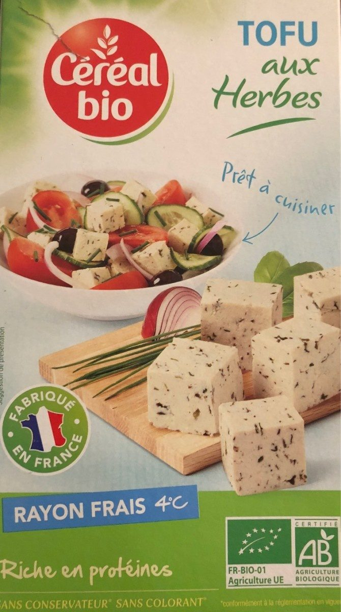 Tofu aux herbes - Product