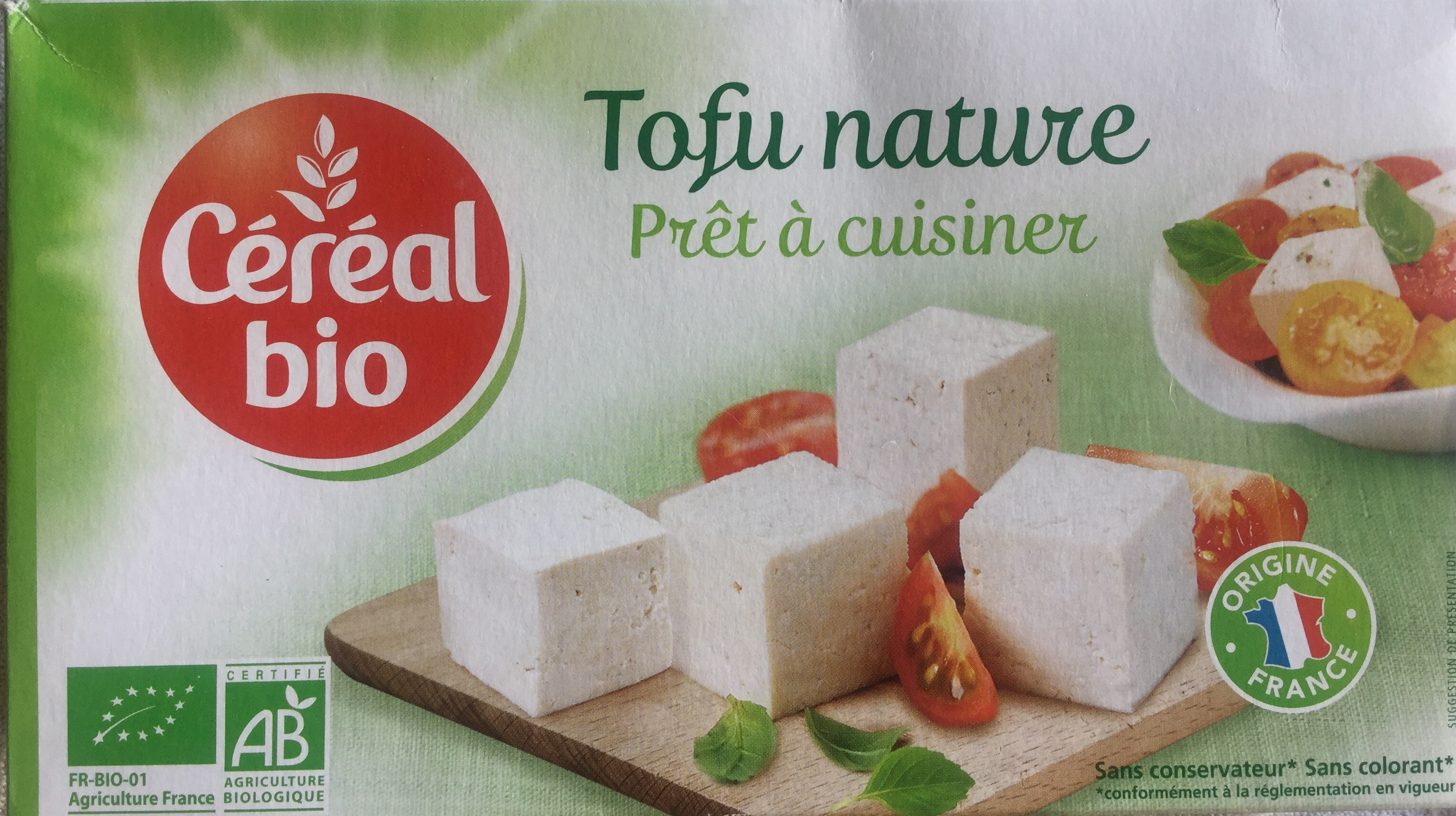 Tofu nature - Product - fr