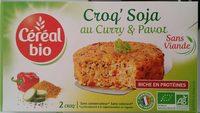 Croq' Soja au curry & pavot - Produit