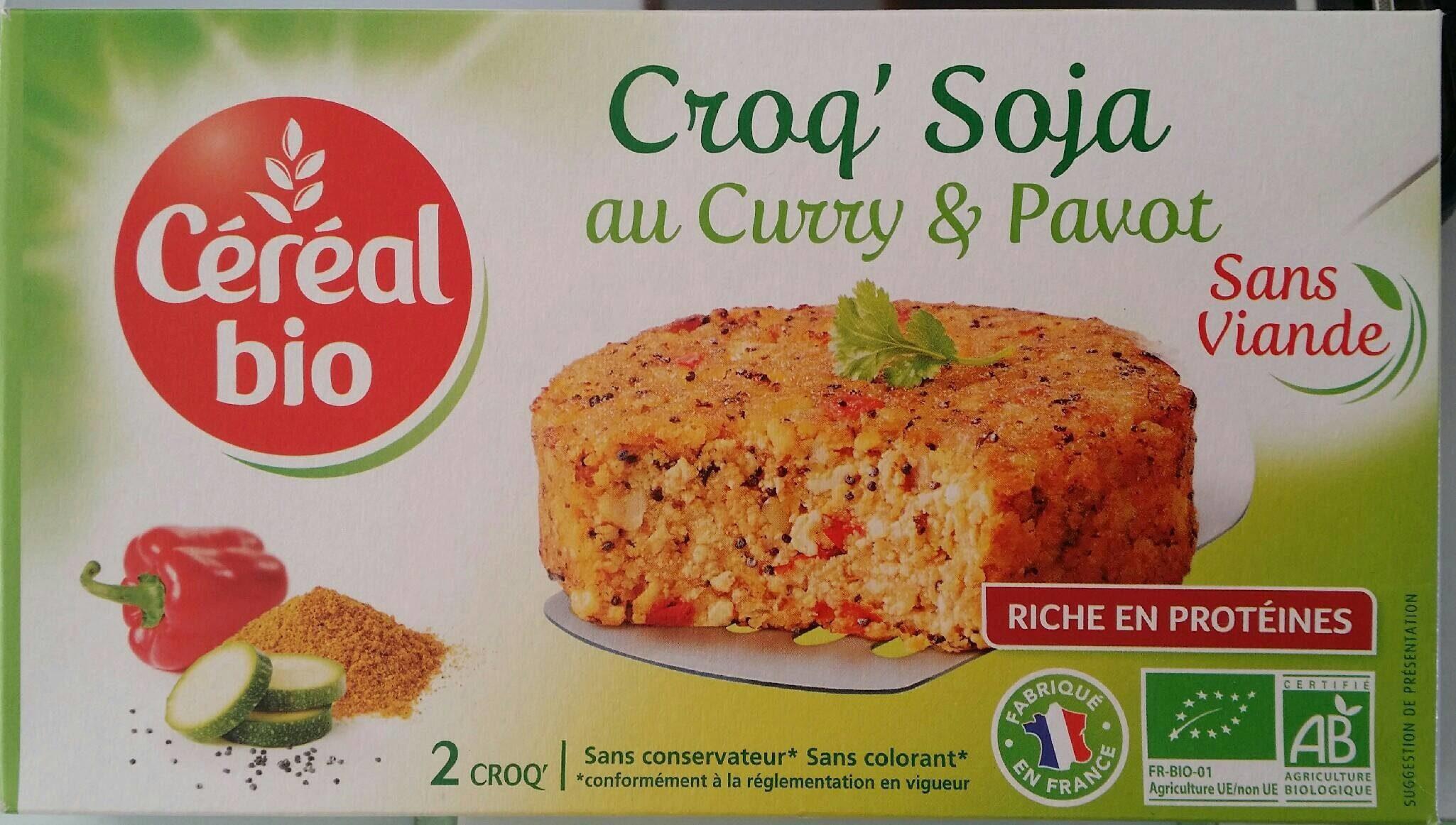 Croq' Soja au curry & pavot - Product